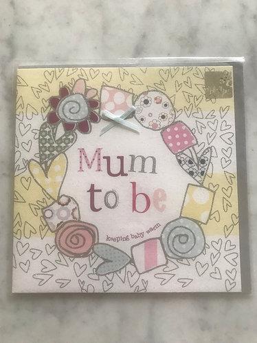 Molly Mae Mum to Be Card