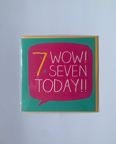Pigment - 7 Wow! Seven Today!!