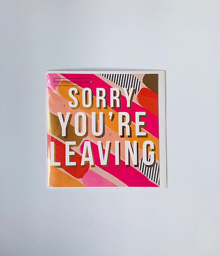 Hammond Gower - Sorry You're Leaving
