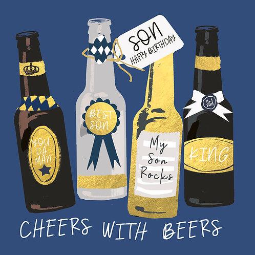 Hammond Gower - Son Birthday Beers
