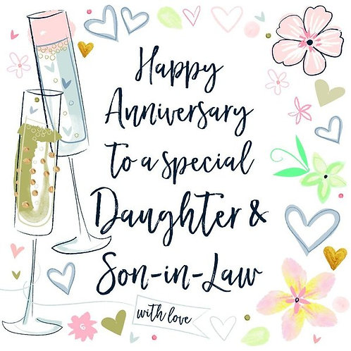 Daughter & Son -in- Law Anniversary