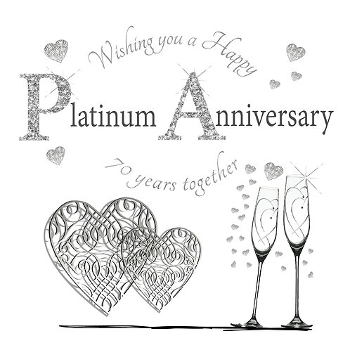 Happy Platinum Anniversary 70 Years Together