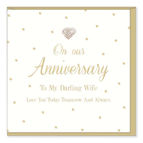 Hearts Designs - Wife Anniversary