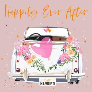 Belly Button Happily Ever After Card