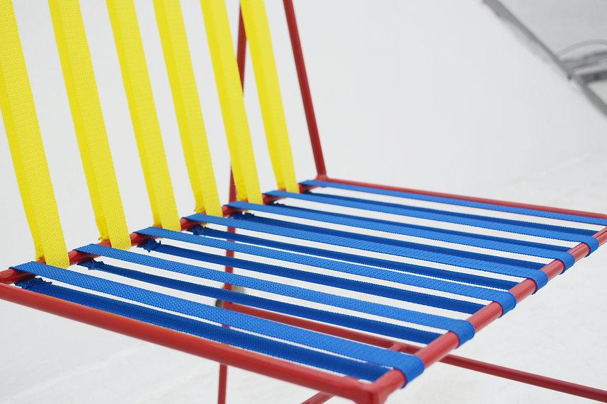 silla coy chair coyoacan bauhaus color metal