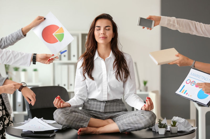 How to cope with workplace stress.