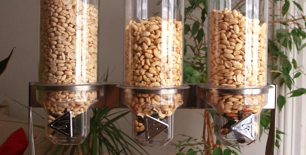 Distributeur de fruits secs bio