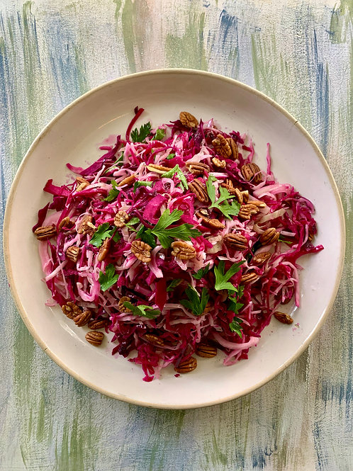 RED CABBAGE & PECANS (per kg)