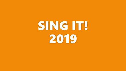 impressie van SING IT!