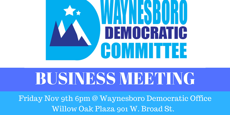 Waynesboro Business Meeting