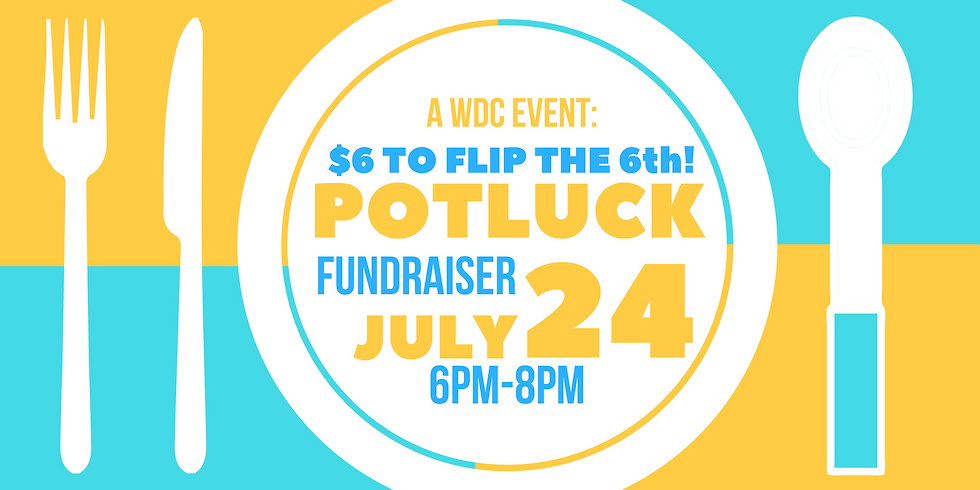6$ to Flip the 6th Potluck Fundraiser