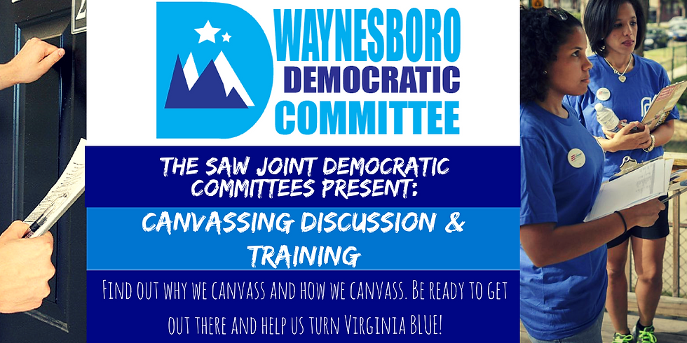 Canvassing Discussion & Training