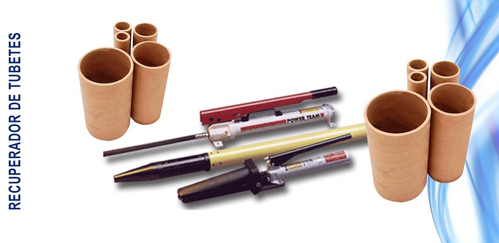 Recuperador de tubetes, recuperador, tubetes, recupera tubos de papelão