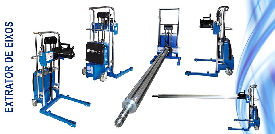 extrator de eixos pneumáticos, extrator de estangas expansivas, extrator de eixos