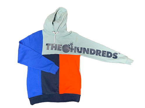 The Hundreds Sleeve Logo Multicolor Hoodie