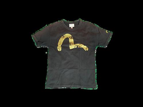 Evisu Gold Logo T-Shirt