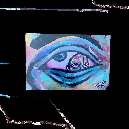 "8.5""x11"" 730t Eye Print"