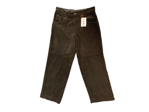 Issey Miyake Black Felt Trousers