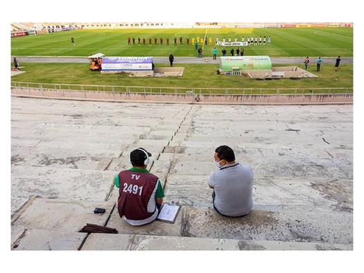 O novo cotidiano nos estádios de futebol pelo olhar de Daniel Lins
