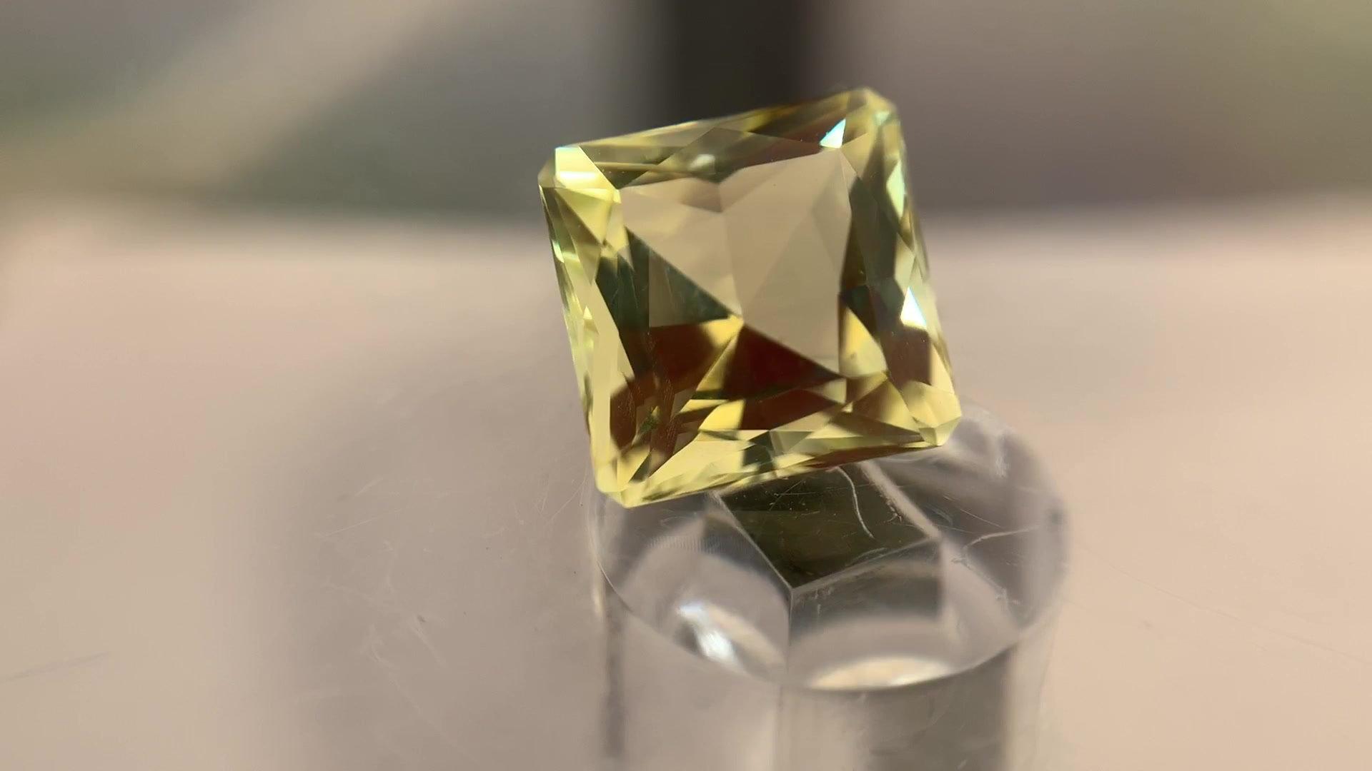 Details about  /Lot Natural Citrine Lemon Quartz 6X6 mm Square Cabochon Loose Gemstone