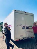 Spendentransport nach Spanien