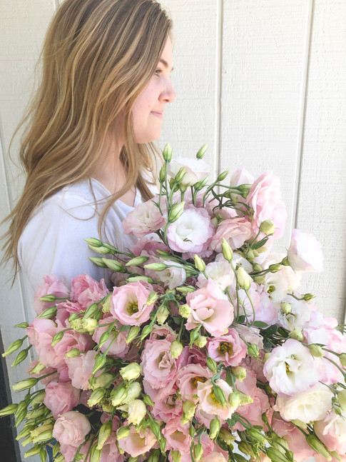 Armload of Lisianthus