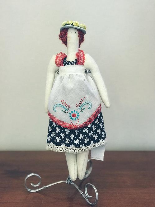 Boneca de pano decorativa 1