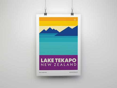 Bold Landscapes - Lake Tekapo (Fine Art Print)