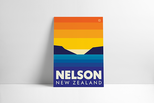 Bold Landscapes - Nelson (Poster)