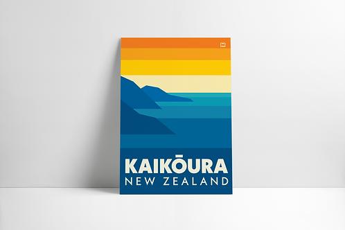 Bold Landscapes - Kaikoura (Poster)