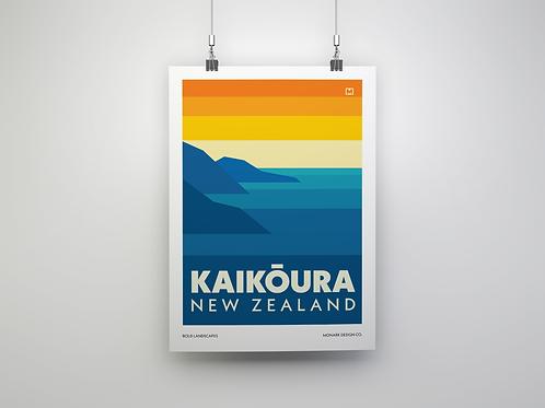 Bold Landscapes - Kaikoura (Fine Art Print)