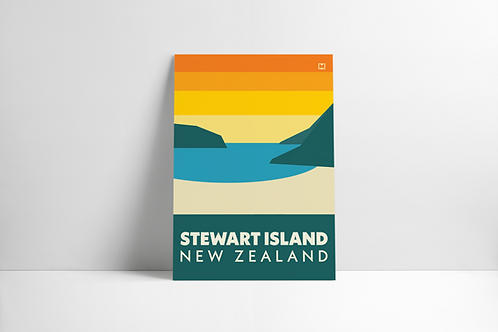 Bold Landscapes - Stewart Island (Poster)