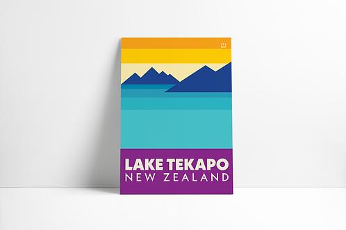 Bold Landscapes - Lake Tekapo (Poster)
