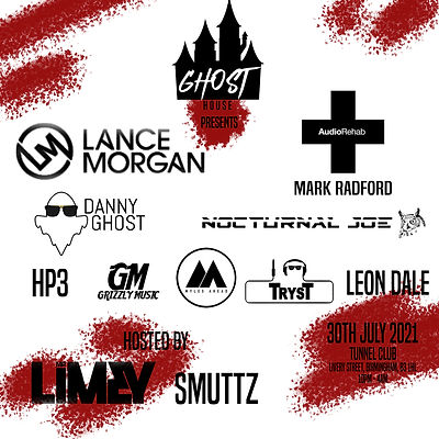 GhostHouse Event line up.jpg