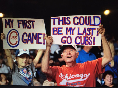 Musings on Mindfulness, Non-Attachment, and Cubs Fans