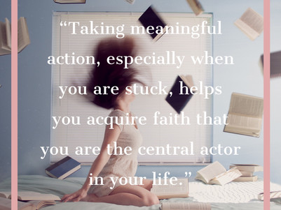 Musings on being an intentional actor....