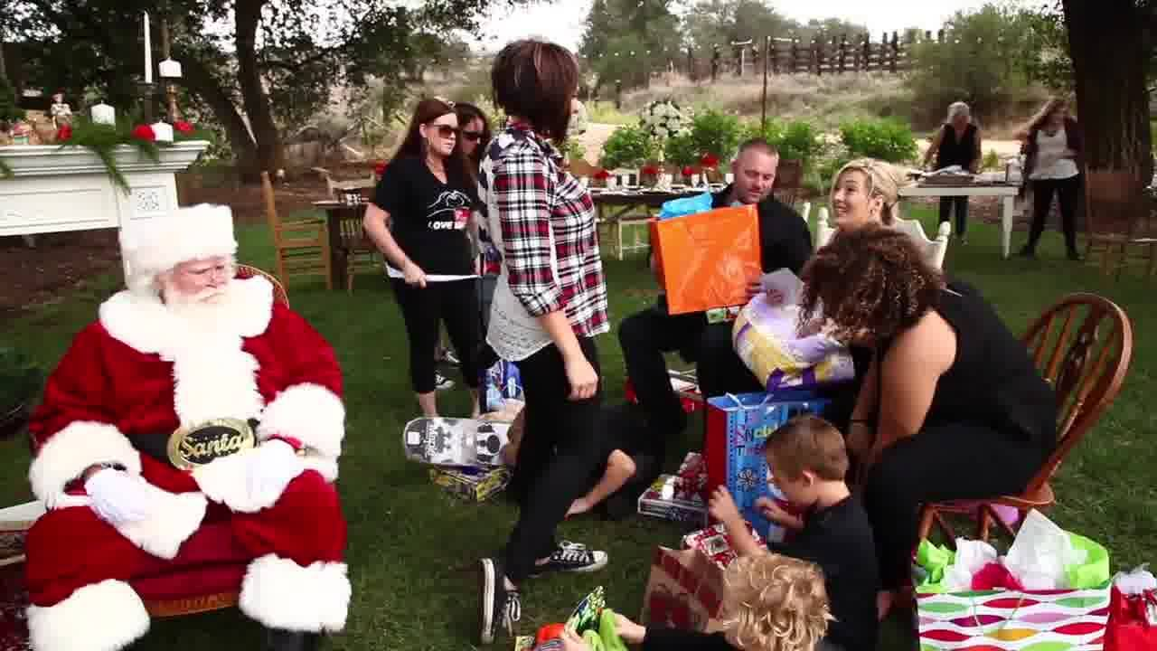 TERMINALLY ILL MOTHER GETS DREAM CHRISTMAS