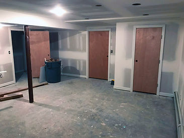 finished basement in Fairfield CT