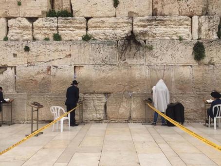 Por primera vez el muro de los lamentos estará vacío después de varias décadas