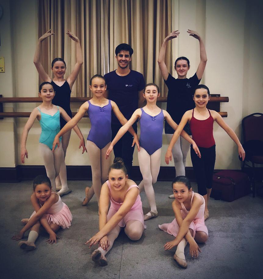 Adopt a Dancer with David Power (QB)