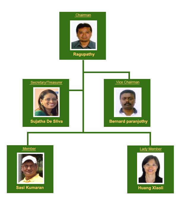 Committee Members of SingaGolf