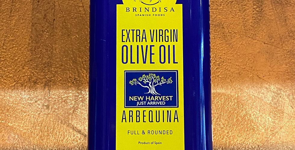 BRINDISA ARBEQUINA OLIVE OIL 1L