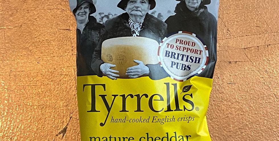 TYRRELLS MATURE CHEDDAR & CHIVE