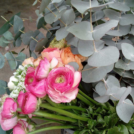 Des bouquets de fleurs au Triporteur