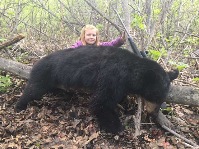 First Black Bear