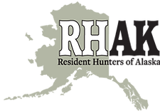 Resident Hunters of Alaska logo