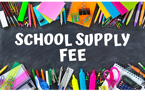 RAA - SCHOOL SUPPLY FEE