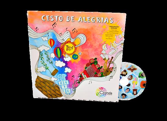 """Livro/CD """"Cesto de Alegrias"""""""