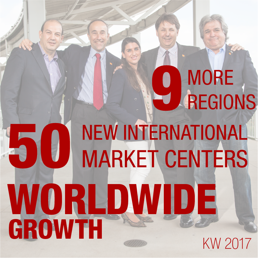 9 More Regions, 50 Market Centers