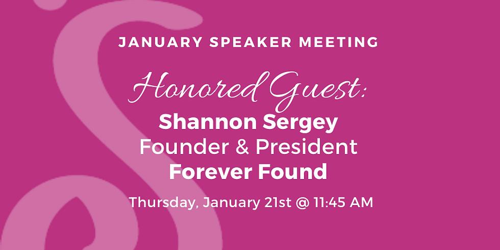 January Speaker Program